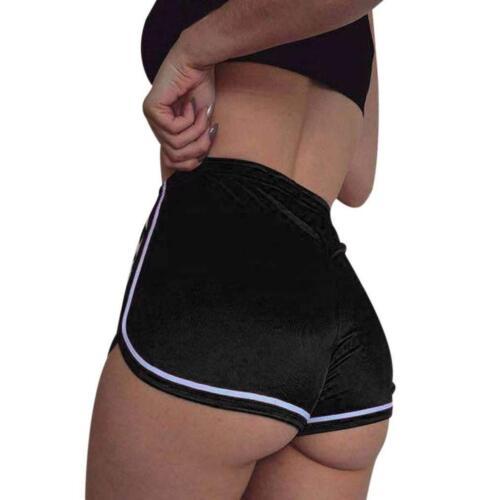Women Girl Sports Shorts Running Gym Fitness Short Pants Workout Beach Casual US