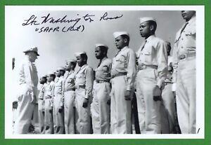 Offizielle Website Washington Ross 2 Weltkrieg Tuskegee Flugzeugführer Pilot Unterzeichnet 4x6 Automobilia Kataloge & Prospekte