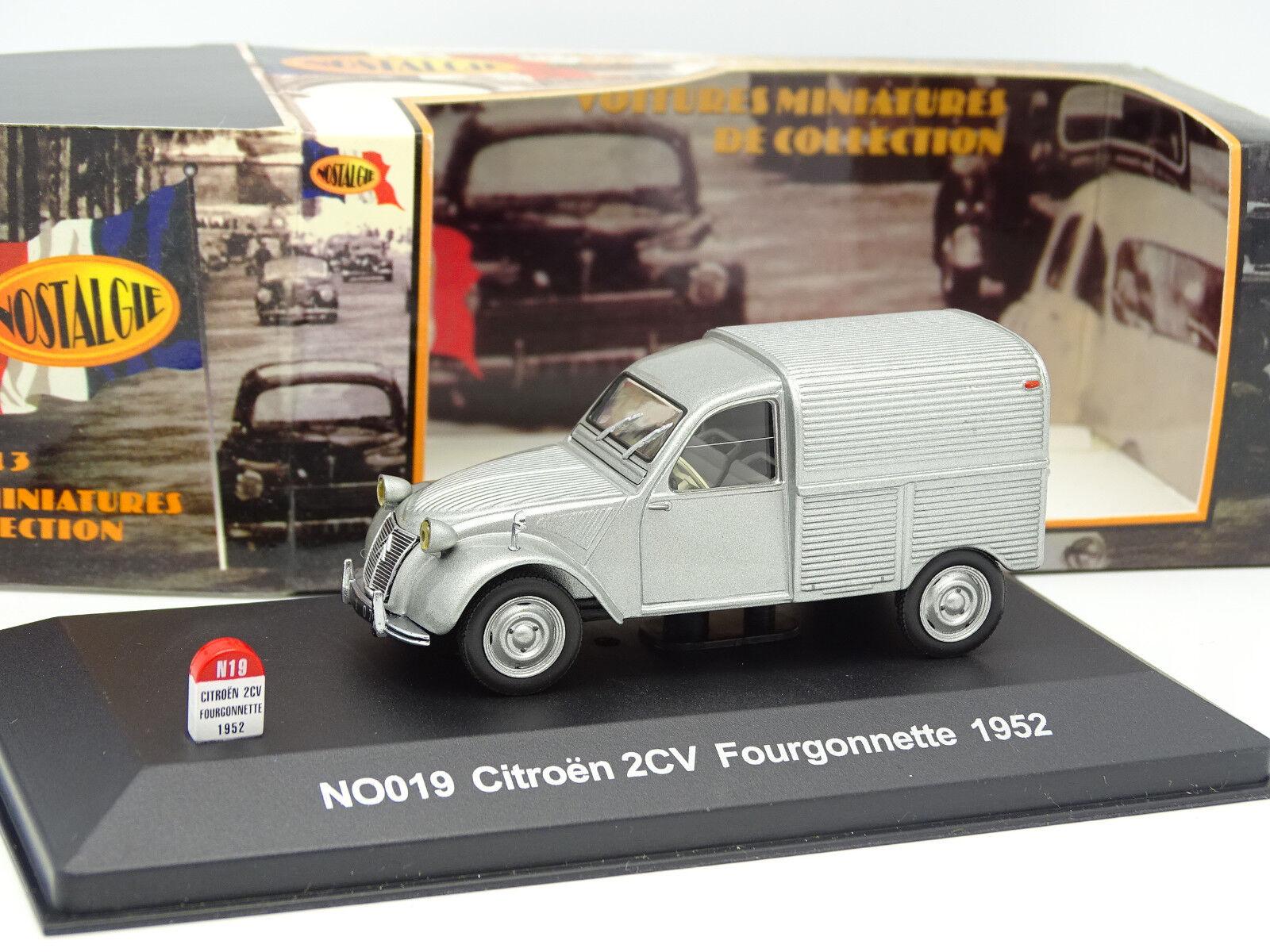 Nostalgie 1 43 - Citroen 2CV Van 1952 Grey