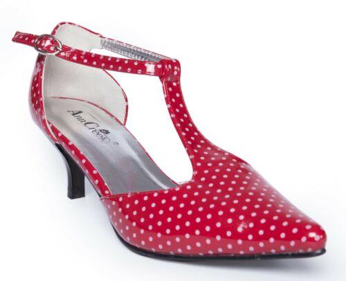 Ann Creek Women/'s /'Retro Vivian/' Polka-dot Pointed Toe Heels