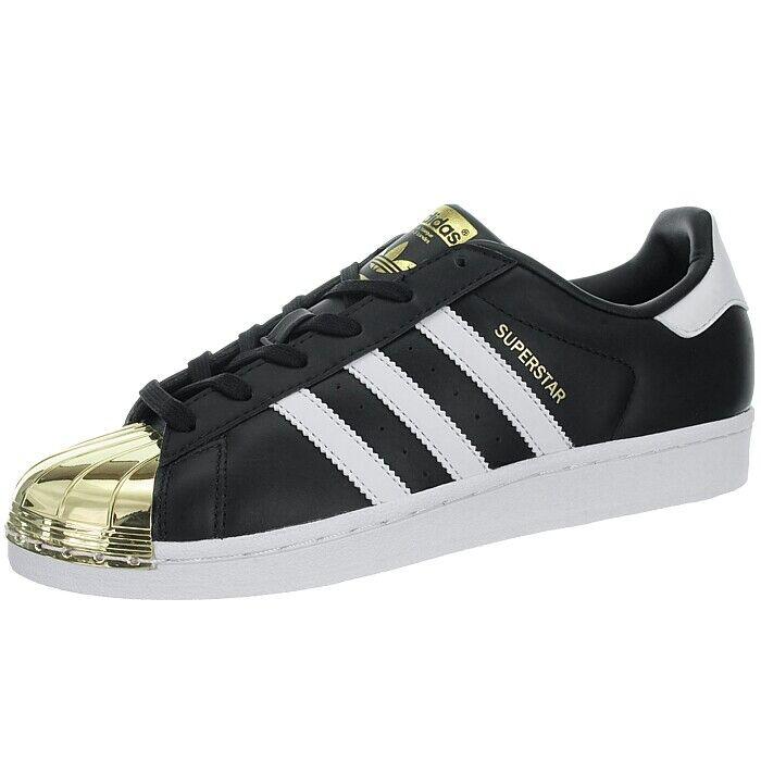 adidas superstar schwarz gold damen