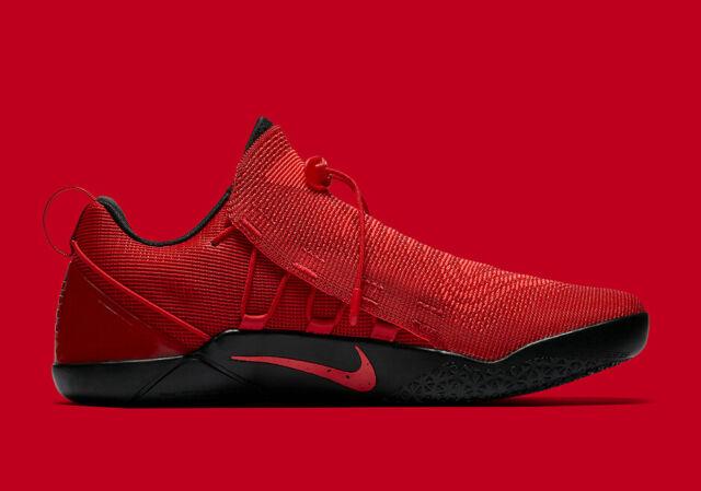 Nowe zdjęcia buty do biegania Los Angeles Nike Kobe AD NXT Men's Size 12 University Red Basketball Shoes 882049 600