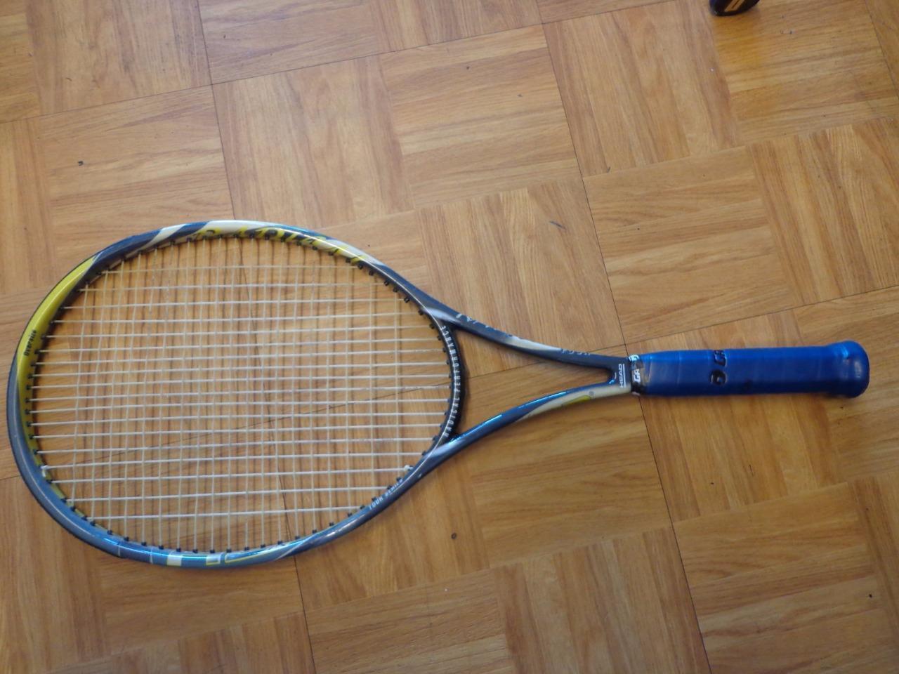 Head Radical Tour Zebra 107 Agassi Made in Austria 4 1 4 grip raquette de tennis