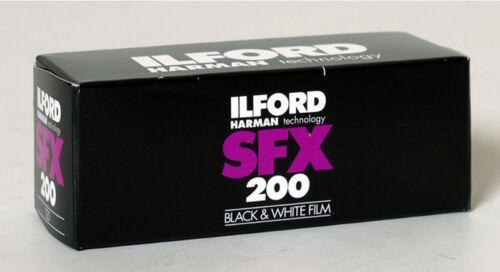 Ilford sfx-200 2 películas 120 fondos formato MHD//Expiry date 09//2019 precio especial