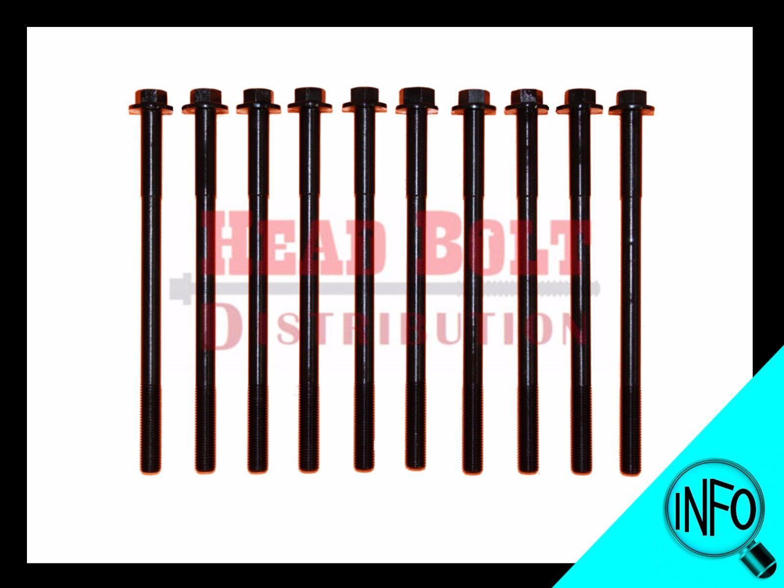 A20DMS A22DMS X20SE X22SE Engine Cylinder Head Bolt Set bolts DOHC 16V kit NEW