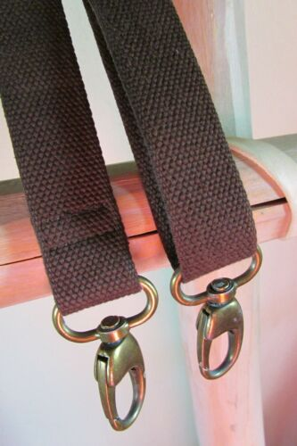 sold individually ASSORTED REPLACEMENT SHOULDER HAND BAG STRAPS in BROWN COLOR