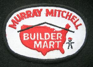 MURRAY-MITCHELL-EMBROIDERED-PATCH-BUILDER-MART-ADVERTISING-UNIFORM-4-034-x-2-1-2-034