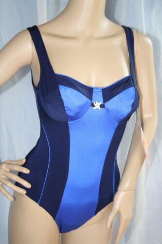 SOLAR Functional Fashion Badeanzug Bügel blau Gr.38 NEU