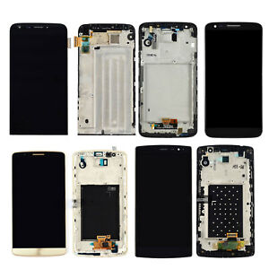 For-LG-G5-G4-G3-G2-LCD-Display-Touch-Screen-Digitizer-Frame-Replacement-Black