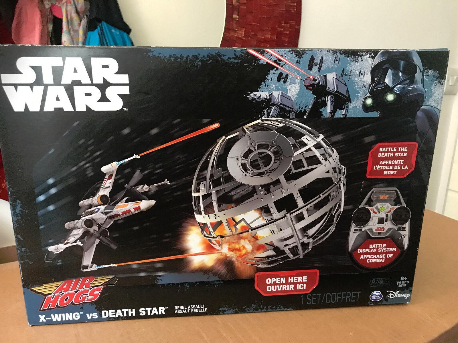 Air Hogs Star wars X-wing vs Death Star Rebel Assault