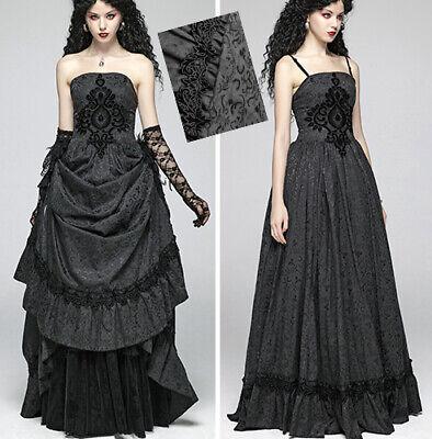 Robe Bal Mariée Jacquard Gothique Victorien Baroque Volants Corset Punkrave 2en1 Alleviare I Reumatismi