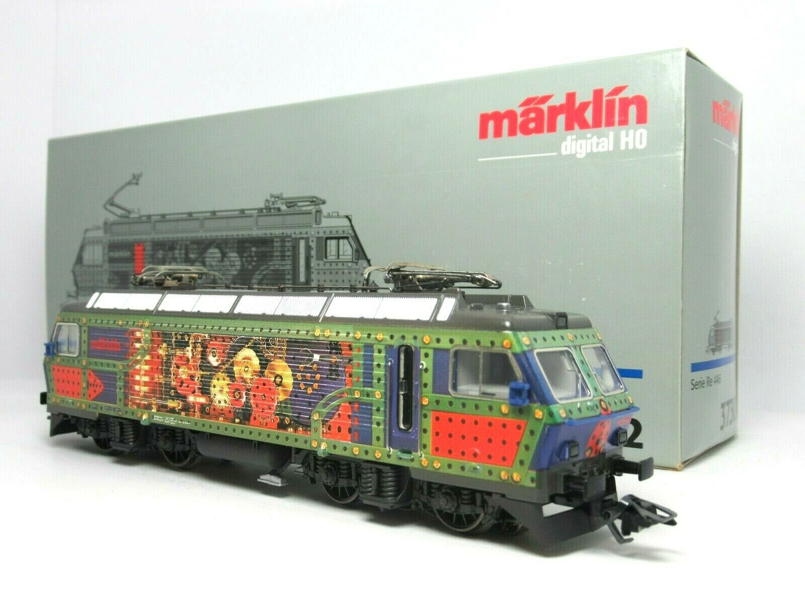 godendo i tuoi acquisti marklin 37302 HO SCALE SBB CFF CFF CFF SERIE RE 446 ELECTRIC LOCOMOTIVE marklin DIGITAL  fino al 70% di sconto
