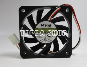 1pc-F6010B12HS-Double-Balle-Ventilateur-de-refroidissement-12-V-0-19-6010-mm-3pin-XX