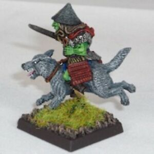Goblin-Wolfrider-with-katana-Warhammer-Fantasy-Armies-28mm-Unpainted-Wargames