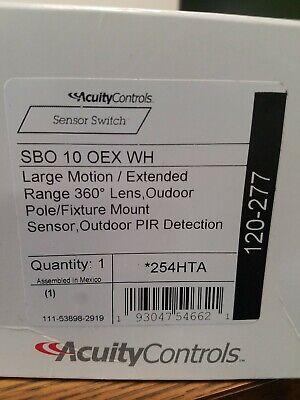 SENSOR SWITCH SBOR-10-OEX-BK OUTDOOR LARGE MOTION EXTENDED RANGE MOTION SENSOR