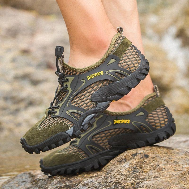 Men Outdoor Turnschuhe Breathable Hiking schuhe Big Größe S Sandals Trekking Trail