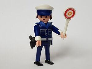 Playmobil-City-Action-Policia-con-Senal-de-Trafico-Policias-Agente