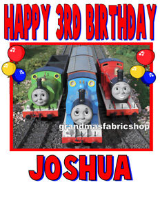 New Thomas the Train Personalized Birthday T Shirt Party Favor