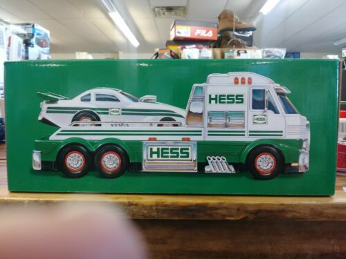 Lights And Sounds Batteries Included New Hess Toy Truck and Dragster 2016
