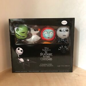 Nightmare Before Christmas Musical Led String Lights Walgreens Exclusive New