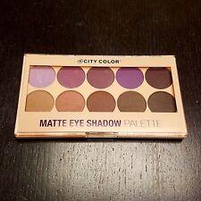 City Color Matte Eyeshadow Palette