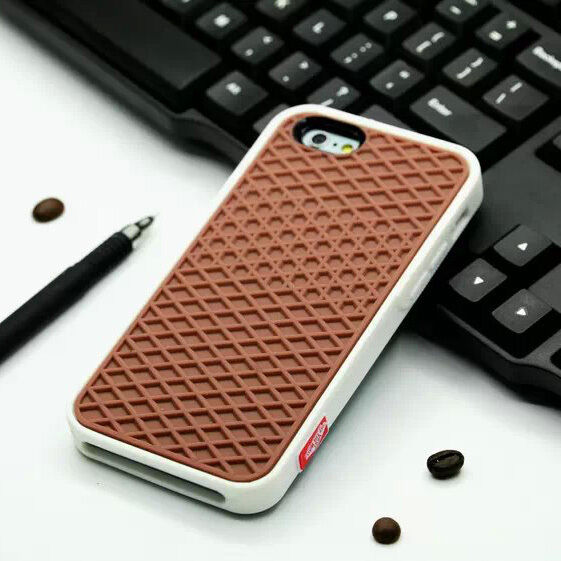 finest selection d37ee 4f55d Vans iPhone 4 /4s Case Waffle Rubber Sole Cover White AUSTRALIAN STOCK.