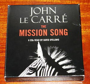 The-Mission-Song-by-John-le-Carre-2006-CD-Abridged-audiobook