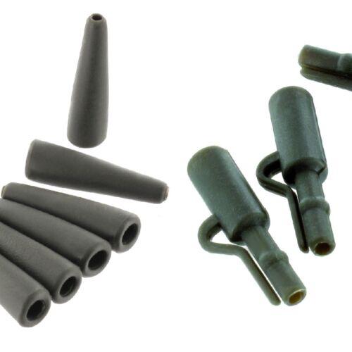 JENZI Tail Rubber Safety Lead Clip 10 Stück Sortiment