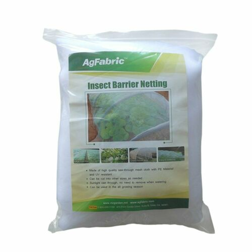 HGmart 6.5/'x10/' Bug Net Garden Netting Against Insects Birds Mosquito Barrier