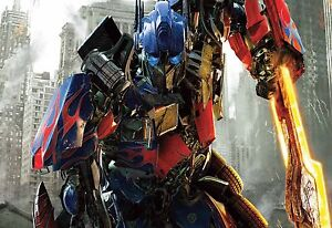 Transformers Optimus Prime Autobots Leader Large Canvas Picture Wall Art