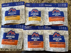 Mountain House Freeze Dried Meals! Backpacking, MRE, Emergency, Camping