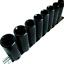"New 8pc 3//8/"" Drive SAE Deep Impact Sockets 6point Flank Drive CRV Inc Clip Rail"
