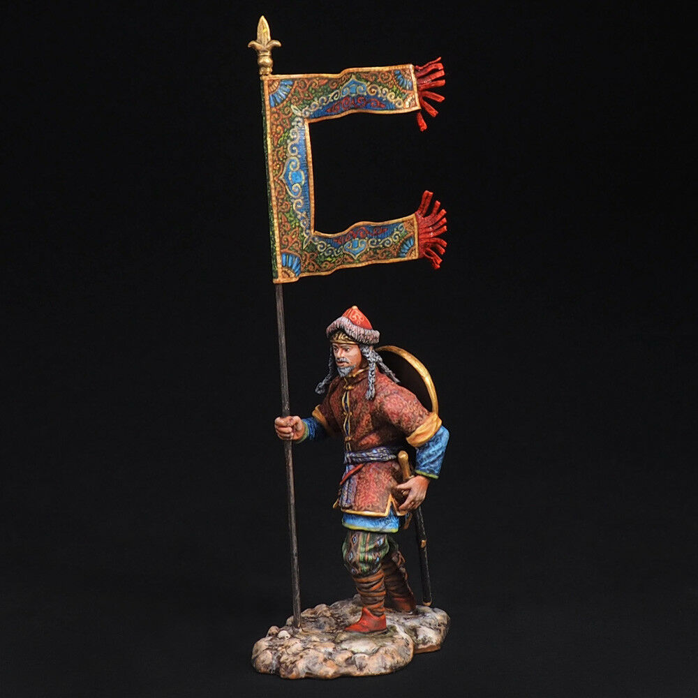Tin Soldier, A Muslim warrior with a banner, The Crusades, 54 mm