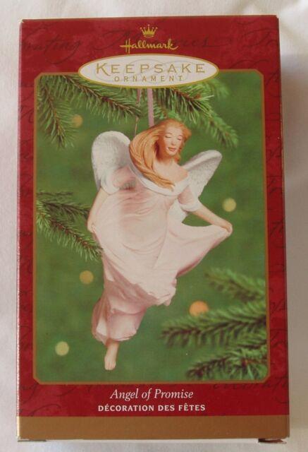 Hallmark Angel Promise SGKBCF Susan G Komen Breast Cancer Christmas Ornament