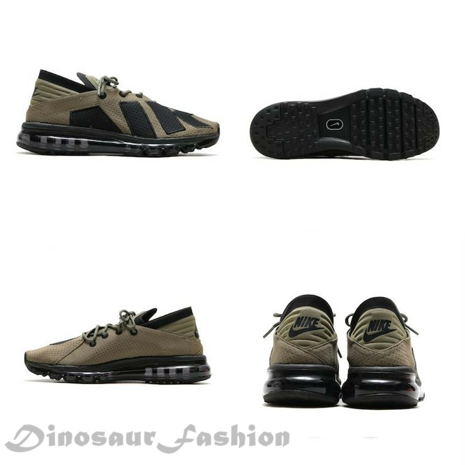 NIKE AIR MAX FLAIR (942236-201) Medium Olive.Men's Sportwears Running shoes.NWB
