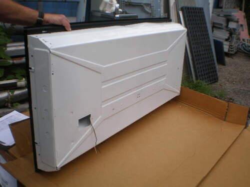 "Mercury Lighting 3 Lamp Fixture #55E-332-OCT-1B-ELBX-120V-1BC 24/"" X 48/"" NIB"