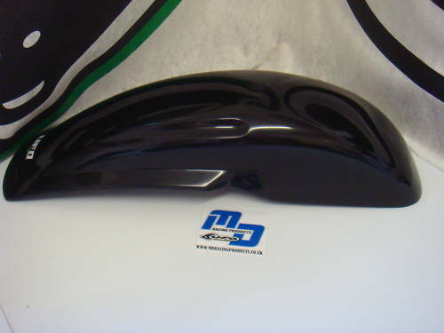 UFO UNIVERSAL REAR FENDER 125//250//500cc BLACK 1109-001