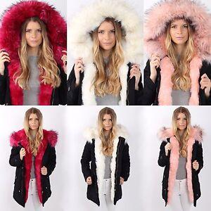 fl7918 fausse veste fourrure fourrure hiver mode Parka xxl capuche dames blogger w6XnPpZn1q