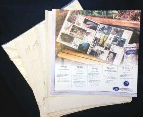"Creative Memories 12x12 Spargo Pages buy only what you need! true 12/"" x 12/"""