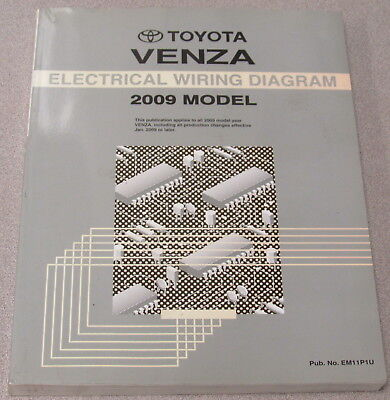 2009 Toyota Venza Electrical Wiring Diagram Service Manual ...