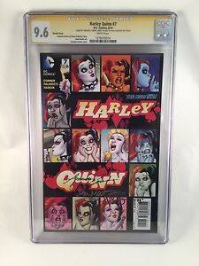 Harley-Quinn-7-1-25-Variant-Cover-9-6-CGC-SS-Signed-Autographed-Suicide-Squad