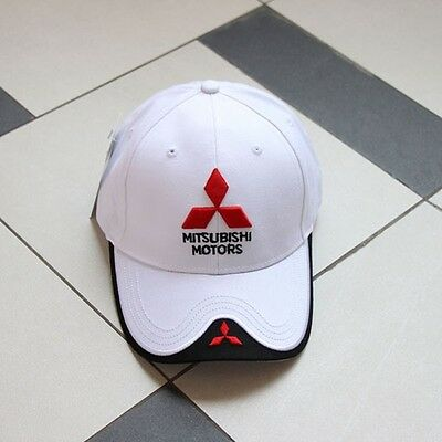 Caps & Hats Learned Mitsubishi Baseball Cap Branded Automotive Merchandise