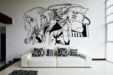 Wall Vinyl Sticker Decal Anime Manga FMA Fullmetal Alchimist Edward Elric V001