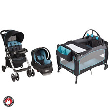 Baby Stroller And Car Seat Combo For Boys Infant Playard Portable Babysuite Crib