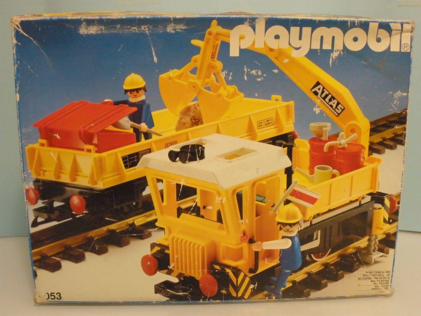 Playmobil Tren Eléctrico de mantenimiento catenaria  4053 año 2018 2