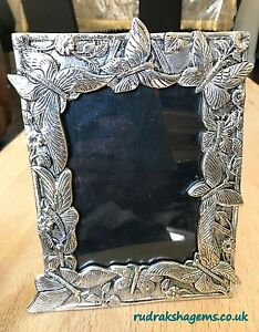 "Vintage Style Oxodised Metal Rectangle Photo Frame 6"" X 4"" Decoration Vintage"