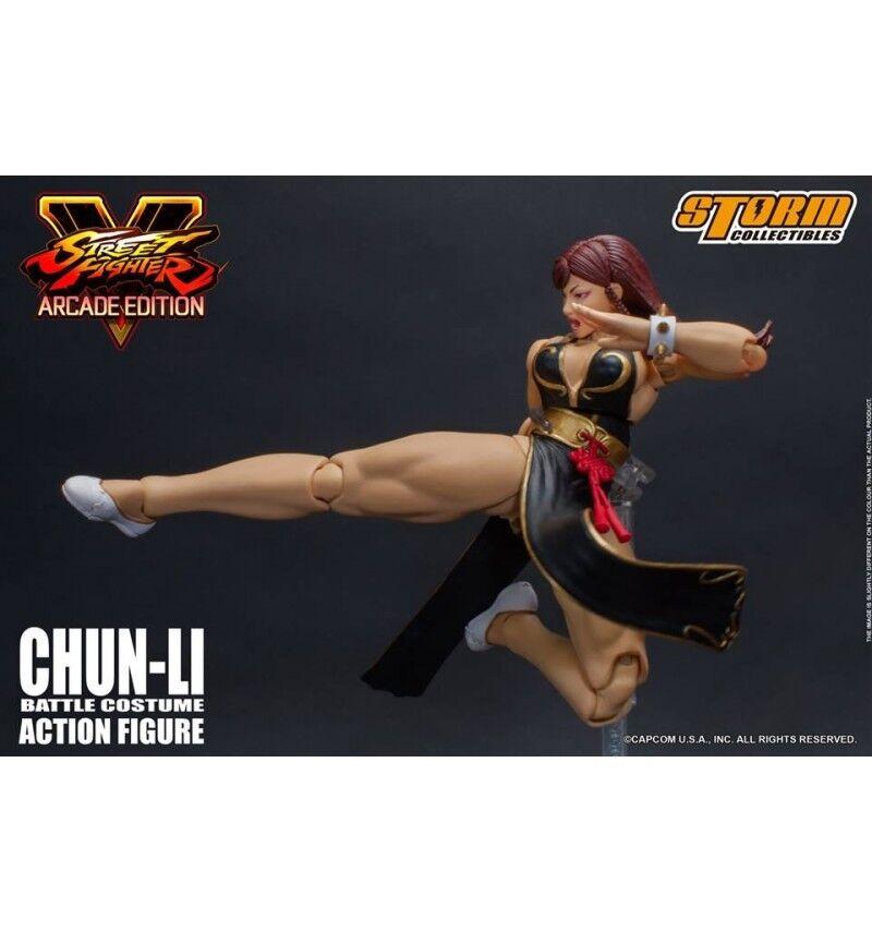 almacén al por mayor Storm Collectibles - Street Fighter Fighter Fighter V - Chun-Li Battle Dress 1 12  Las ventas en línea ahorran un 70%.