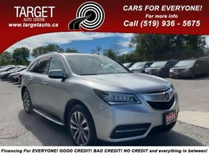 2015 Acura MDX Nav Pkg, 2 Sets Of Tires With Alloy Rims, Mint Con