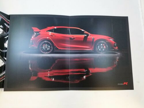 Rare US 2017 Honda CIVIC TYPE R Sales Brochure *Free Shipping*