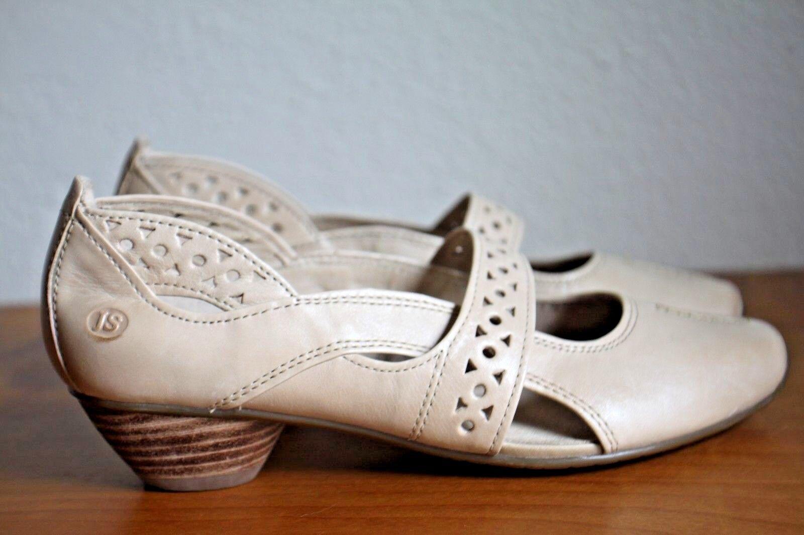 Josef Seibel Tina 307 (91254) para mujer Slip On Mary Jane Zapato excelente condición usada Talla 36 5.5